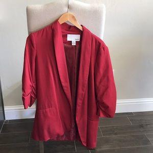 Like new red blazer by Bar III